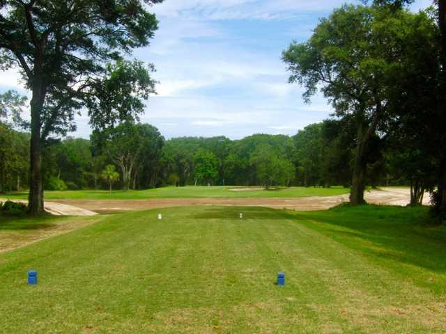A view from tee #7 at South from Fernandina Beach Golf Course