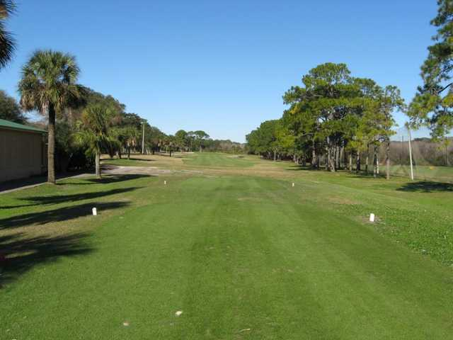 A view from the 1st tee at North from Fernandina Beach Golf Course