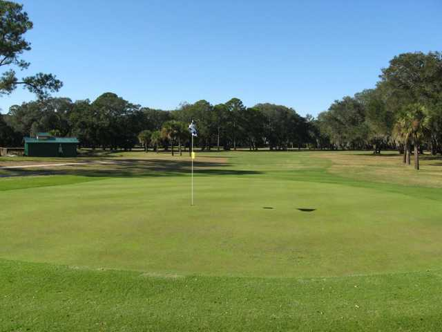 A view of the 9th hole at North from Fernandina Beach Golf Course