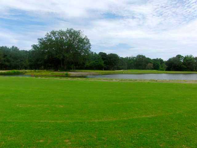 A view of the 6th fairway at South from Fernandina Beach Golf Course