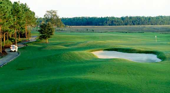 A view of a hole from The Club at Osprey Cove Golf Club