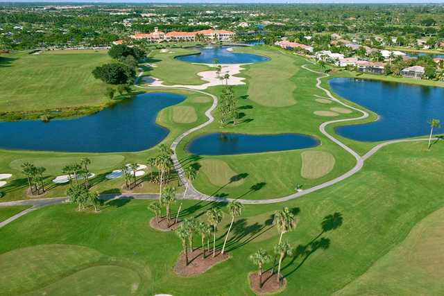 Aerial view from Wycliffe Golf & Country Club