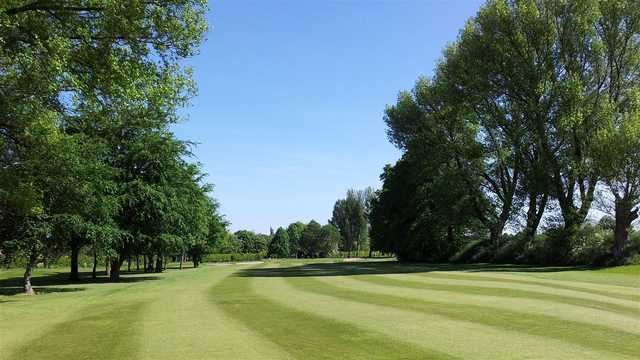 A view from a fairway at Withington GC