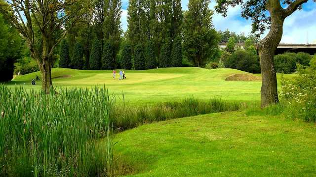 A view from Withington Golf Club