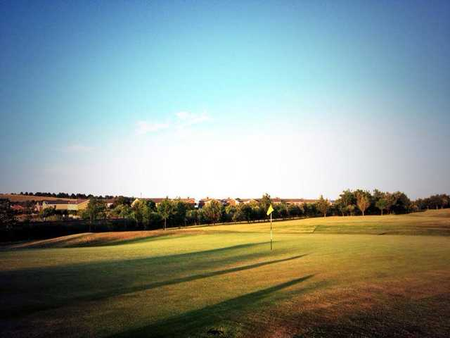 A view of the 3rd hole at Blyth Golf Club