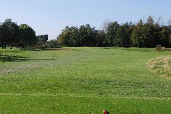 A view from a tee at Ashton & Lea Golf Club