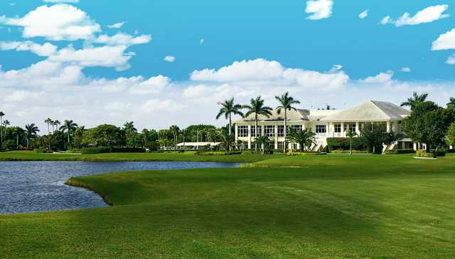 A view from a fairway at Indian Spring Country Club
