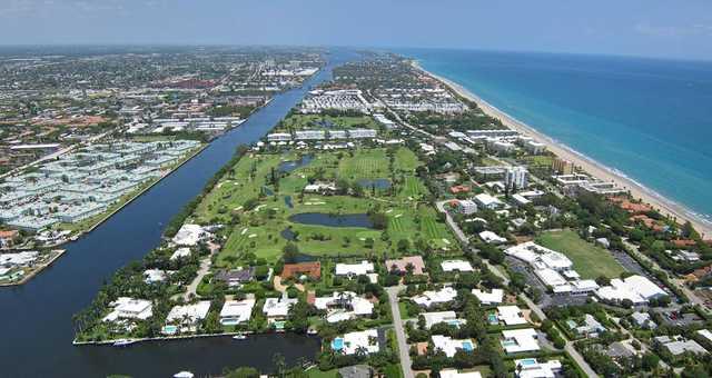 Aerial view of Gulf Stream Golf Course (Randy & Nick)
