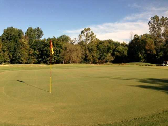 A view of hole #1 at Blue Nine from Golf Club At Bradshaw Farm