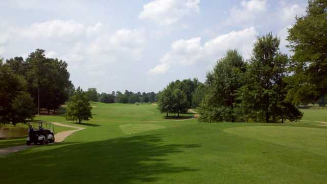 A view from the 4th tee at Cotton Fields Golf Club