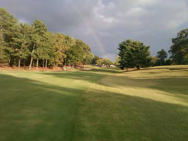 A view of a fairway at Northwood Country Club