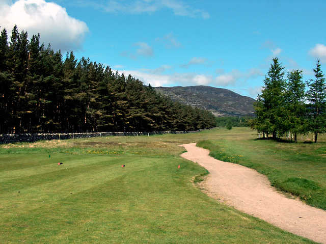 "Kingussie GC: 14th hole - ""The Dyke"""