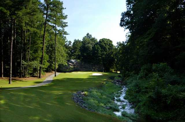 A view of a fairway at Indian Hills Country Club