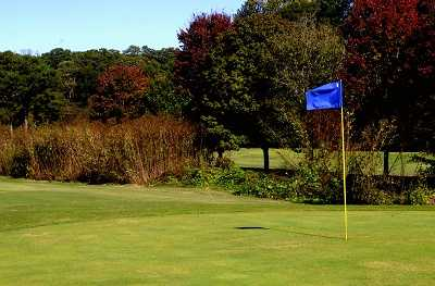 A view of a hole at Cross Creek Golf Club