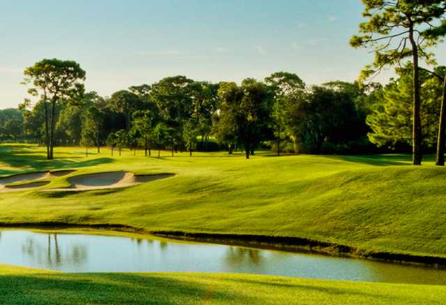 A view over the water from Fox Squirrel Course at Innisbrook Resort & Golf Club