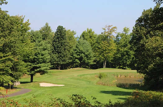View of the 2nd green from the South course at Split Rock Resort & Golf Club