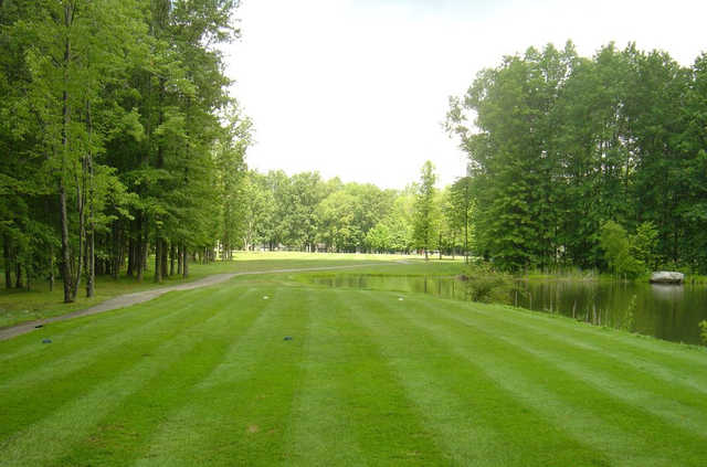 A view from the 9th tee at Bedford Trails Golf Course