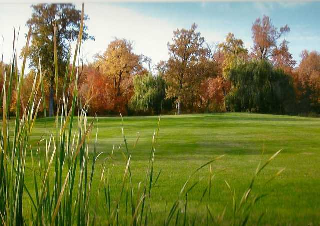 A fall view from ShadowBrooke Golf Course