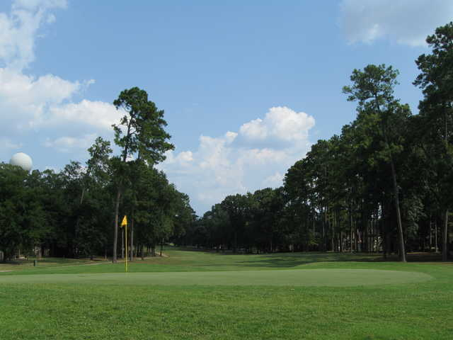 A view of a green at Panorama Golf Club