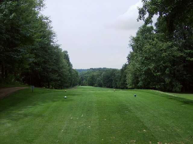 A view from a tee at Apollo Elks Country Club