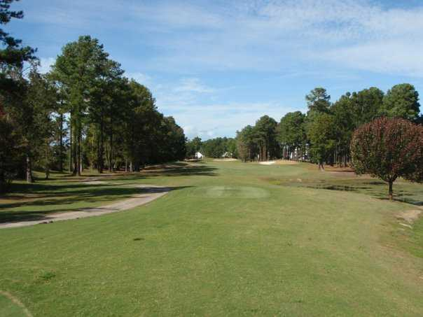 A view from tee #6 at Fox from River Oaks Golf Club