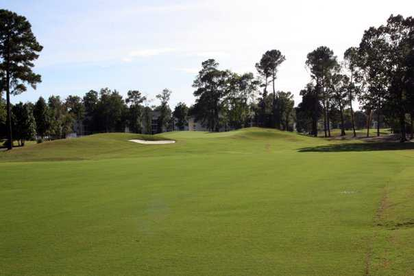 A view from fairway #1 at Otter from River Oaks Golf Club