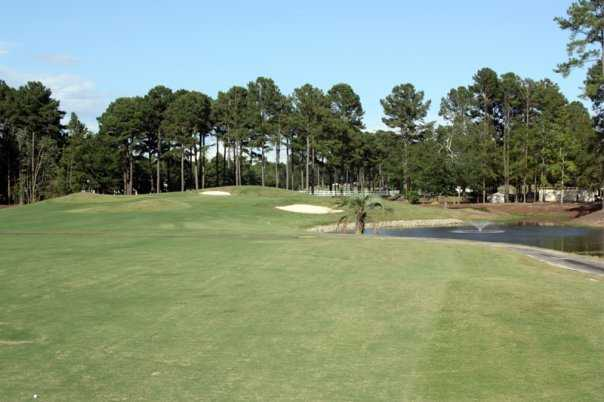 A view from the 5th fairway at Otter from River Oaks Golf Club