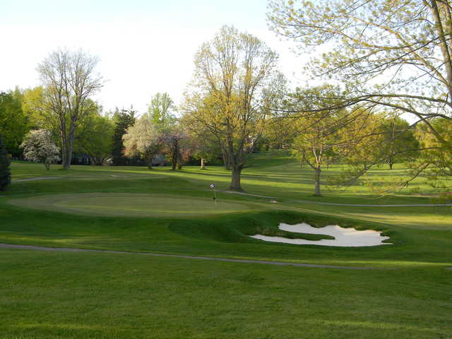 A view of the 2nd hole from Fairways at Twin Lakes