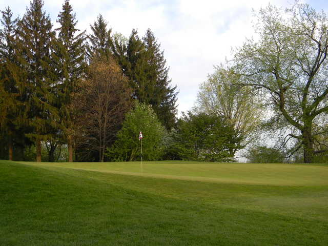 A view of the 5th hole from Fairways at Twin Lakes