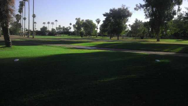 A view from a tee at Shalimar Golf Club