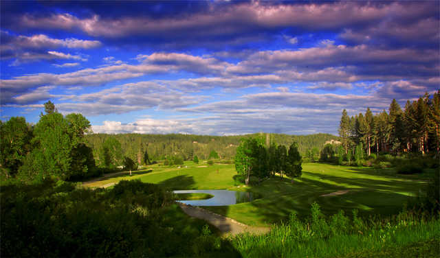 A nice view from Graeagle Meadows Golf Course