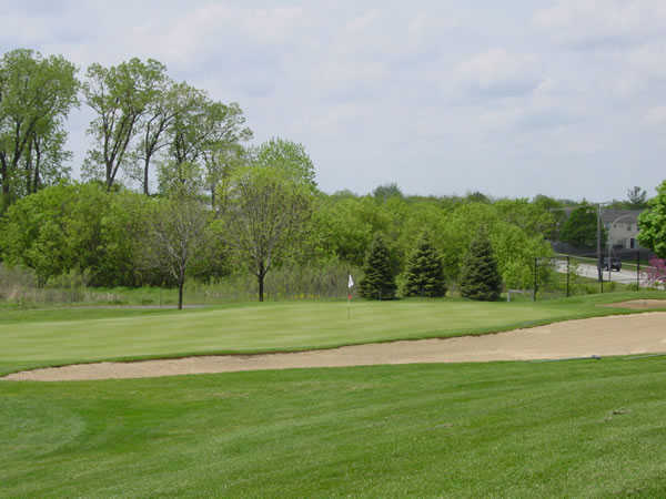 A view of the 3rd hole at Nickol Knoll Golf Club