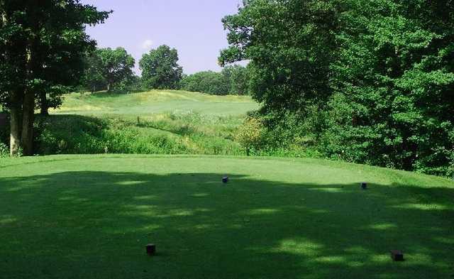 A view from a tee at Calderone Golf Club