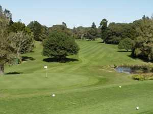 A view of a green at Sherwood Park Golf Course (Palm Beach Sports)