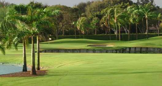 A view from Via Mizner Golf & City Club.