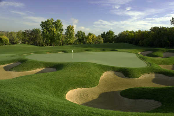 A view of the Course #4 Dubsdread at Cog Hill Golf and Country Club
