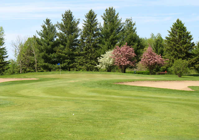 A spring view from Purple Hawk Country Club