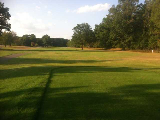 A view of a fairway at Redwood Golf Course