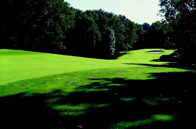 A view of a fairway at Wedgwood Country Club