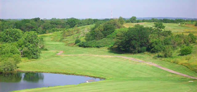 A view from Settler's Hill Golf Course