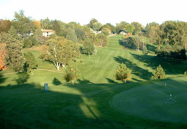 A view of a fairway at Red Wing Golf Course