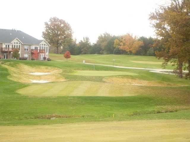 A fall view from Bear Creek Golf Club