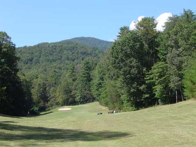 A view from a fairway at The Rock Golf Club & Resort