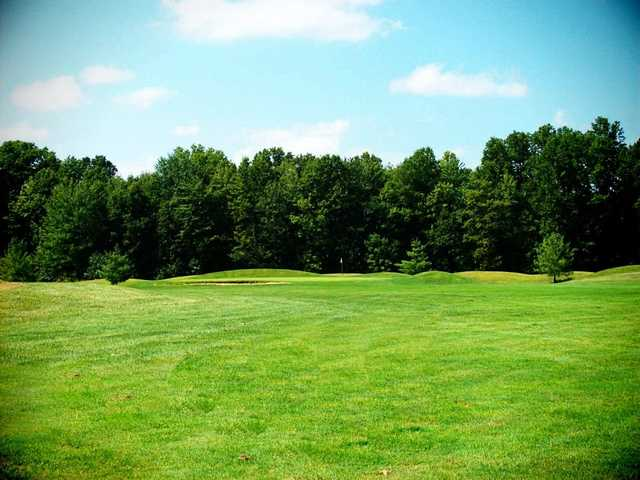 A view from a fairway at Deer Track Golf Course