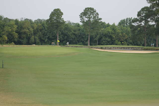 A view from a fairway at Wedgewood Country Club