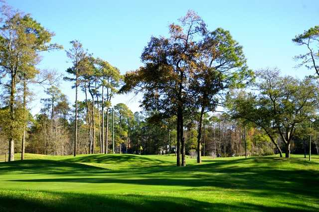 A view from a fairway at Tupelo Bay Golf Complex
