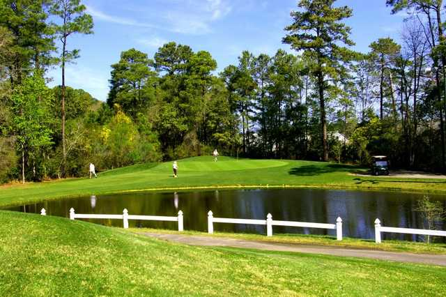 A view from Tupelo Bay Golf Complex