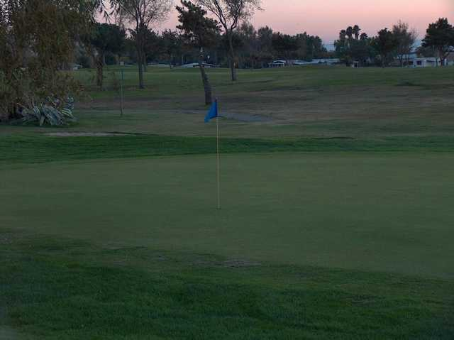 A view of a hole at Bethel Island Club