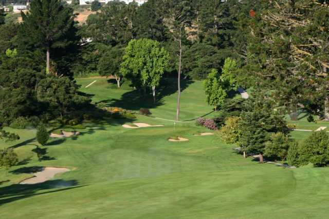 A view from a fairway at Green Hills Country Club
