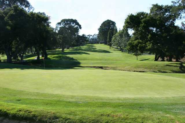 A view of a green at Green Hills Country Club
